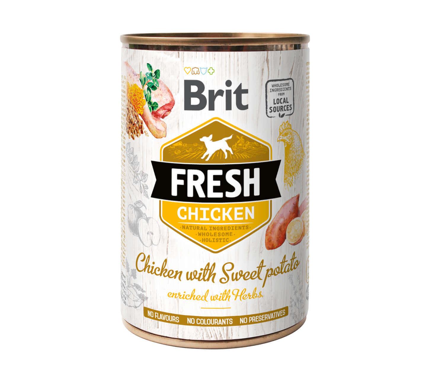 Brit Fresh – Chicken with Sweet Potato – (6er Pack)