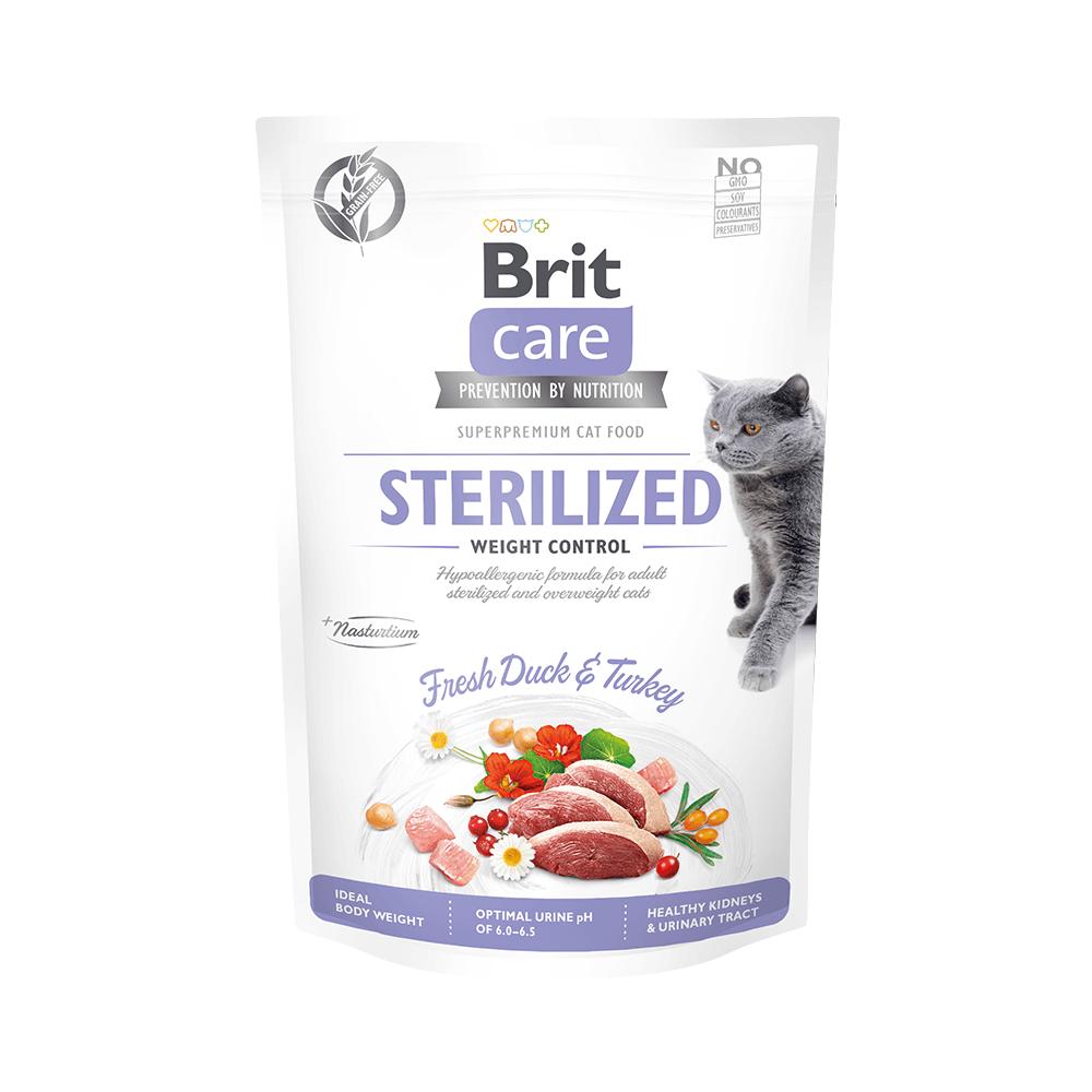 Probe Brit Care Cat Grain-Free - Sterilized - Weight Control