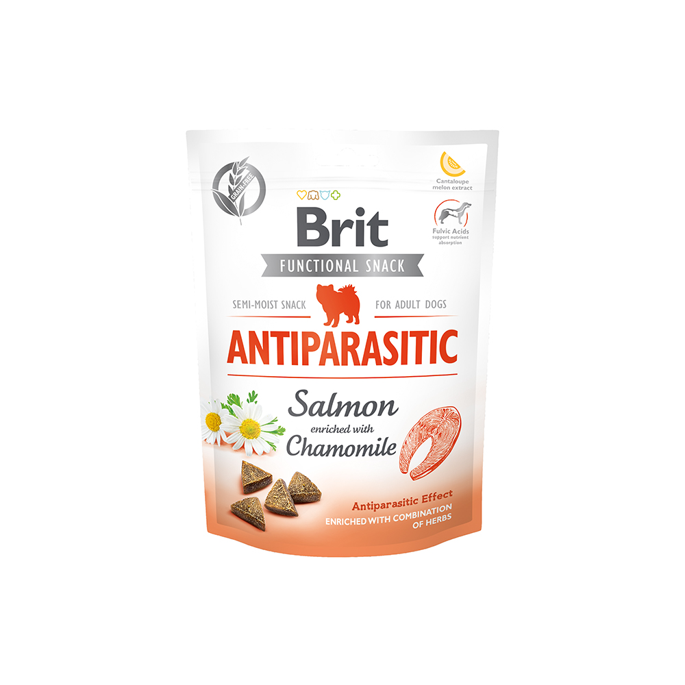Brit - Functional Snack - Antiparasitic Salmon - Lachs + Kamille