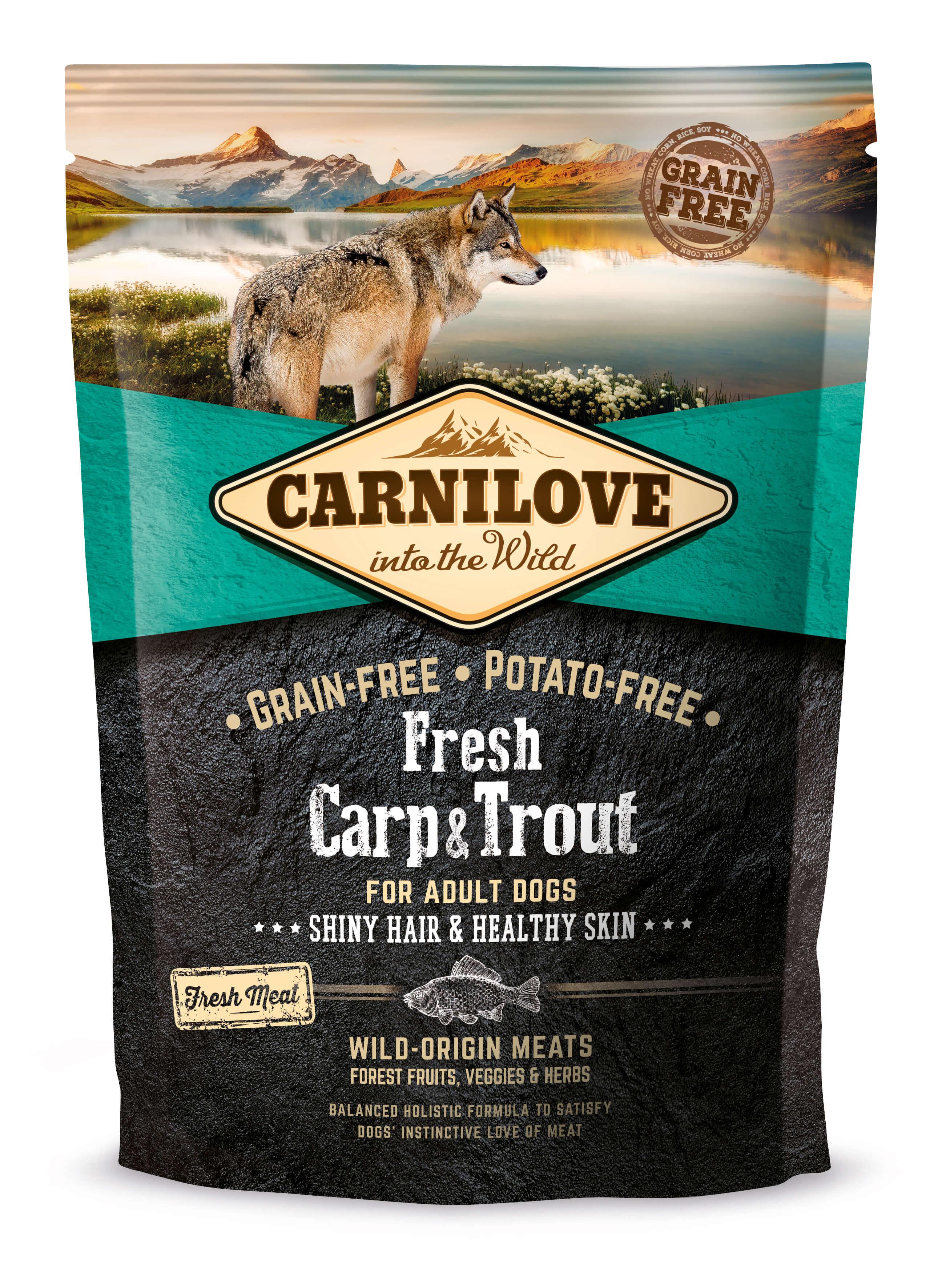 Carnilove Hund Fresh – Carp & Trout