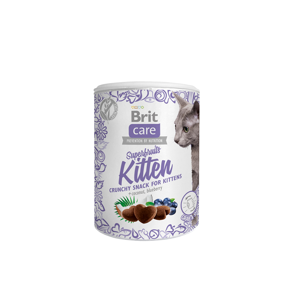 Brit Care Cat Snack - Superfruits - for Kittens