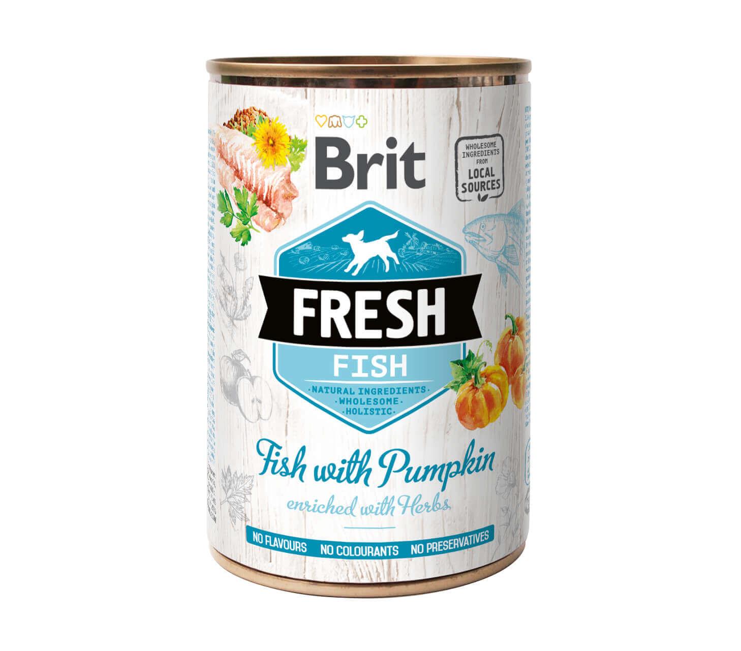 Brit Fresh – Fish with Pumpkin – (6er Pack)