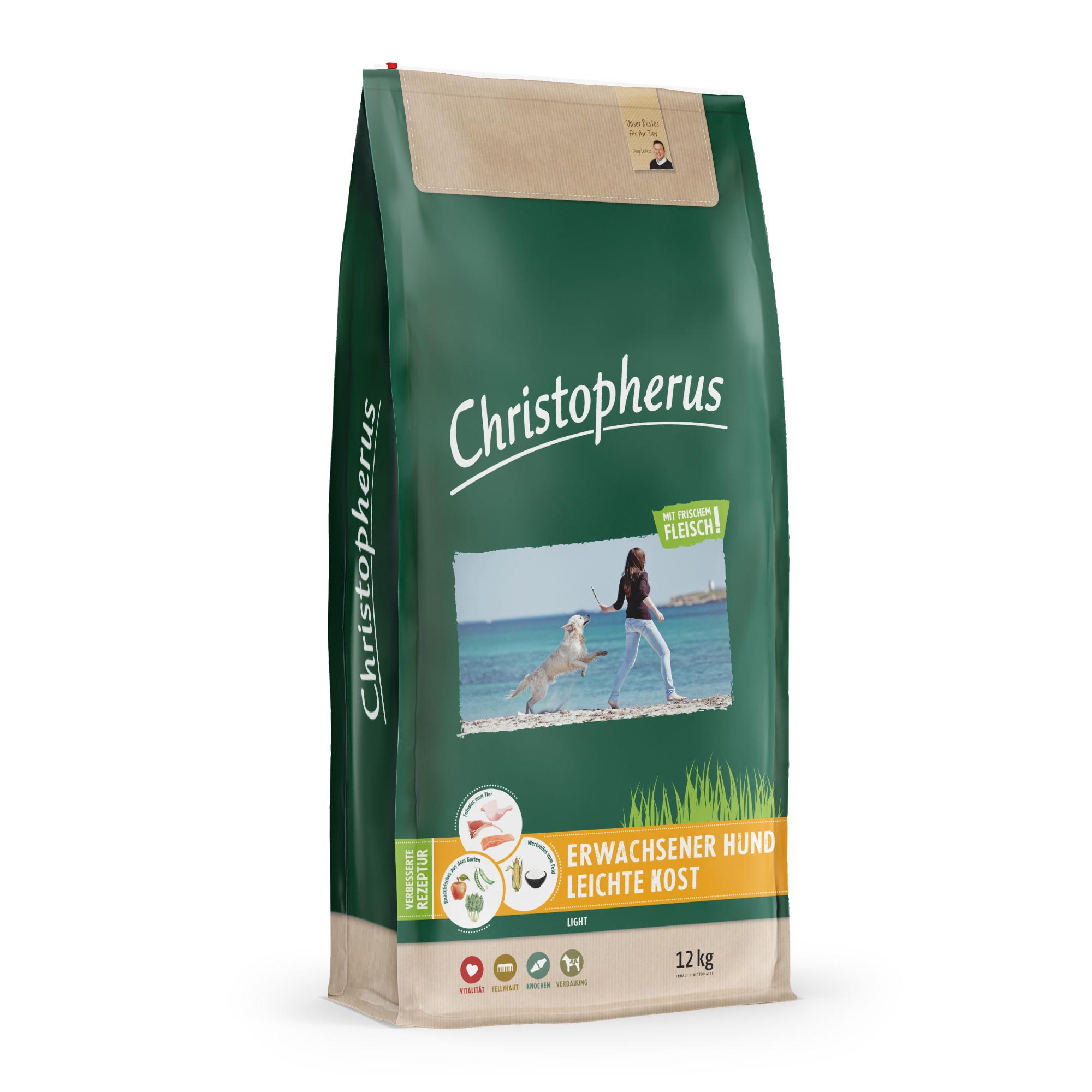 Christopherus – Leichte Kost Geflügel + Reis