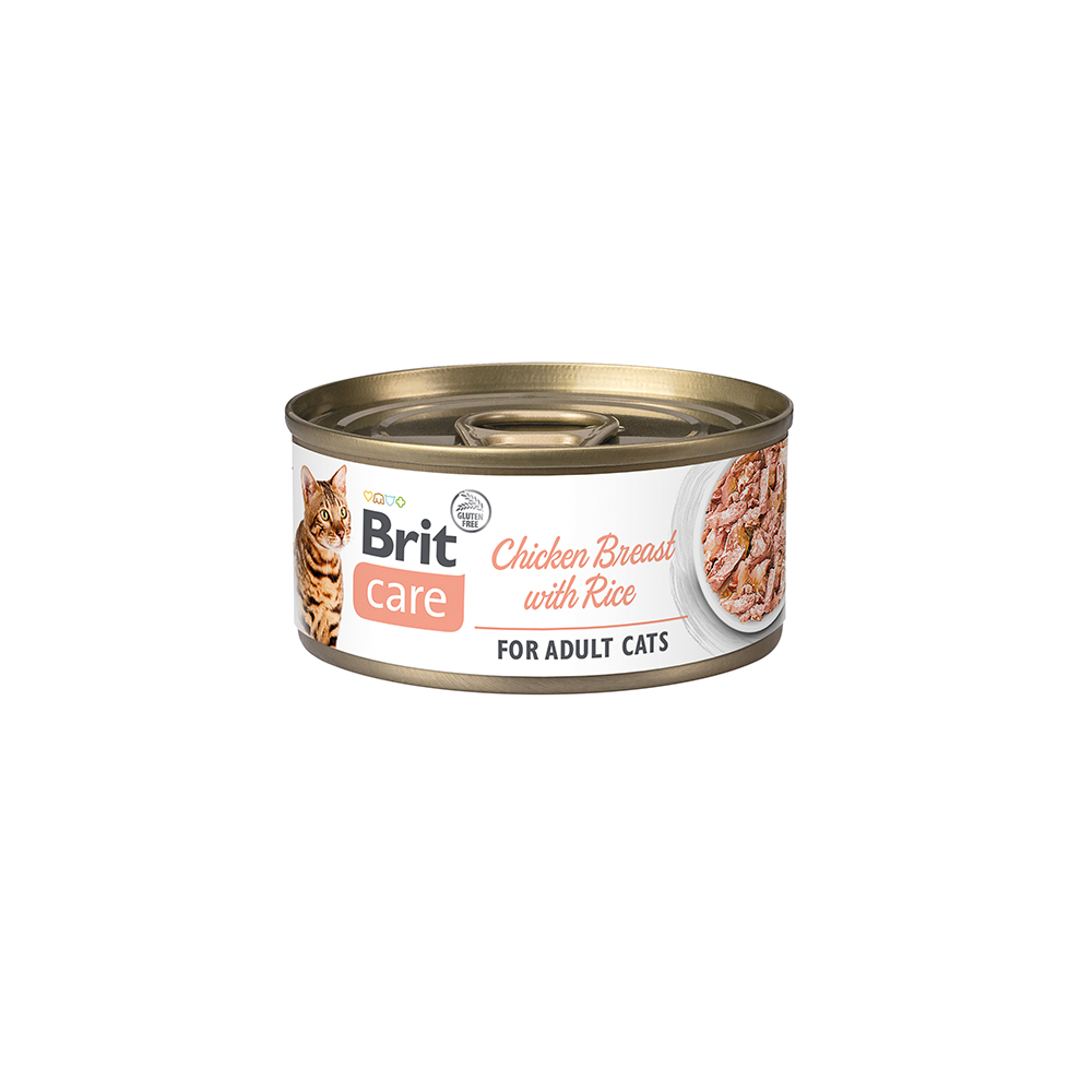 Brit Care Cat - Chicken Breast with Rice