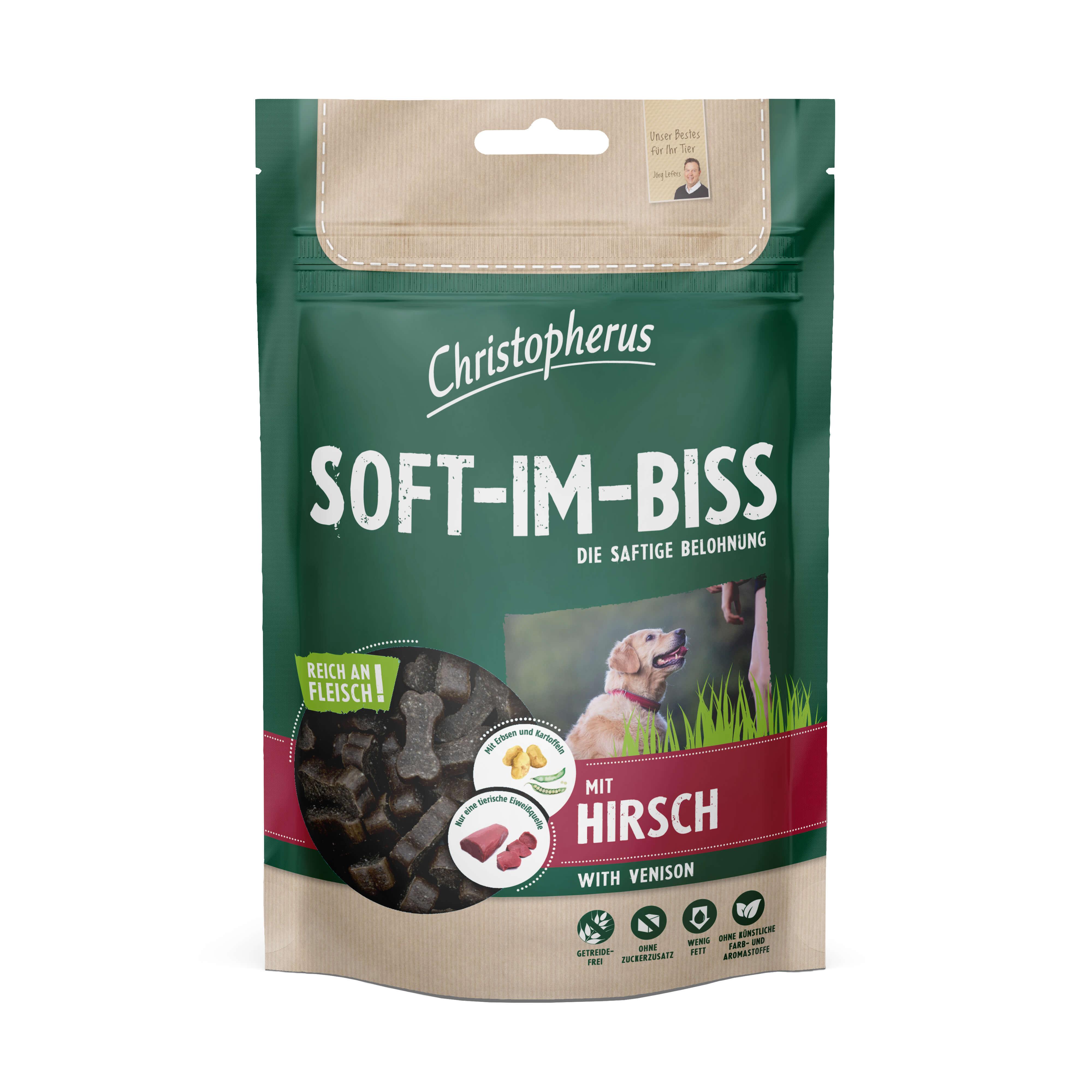 Christopherus – Soft-Im-Biss Hirsch