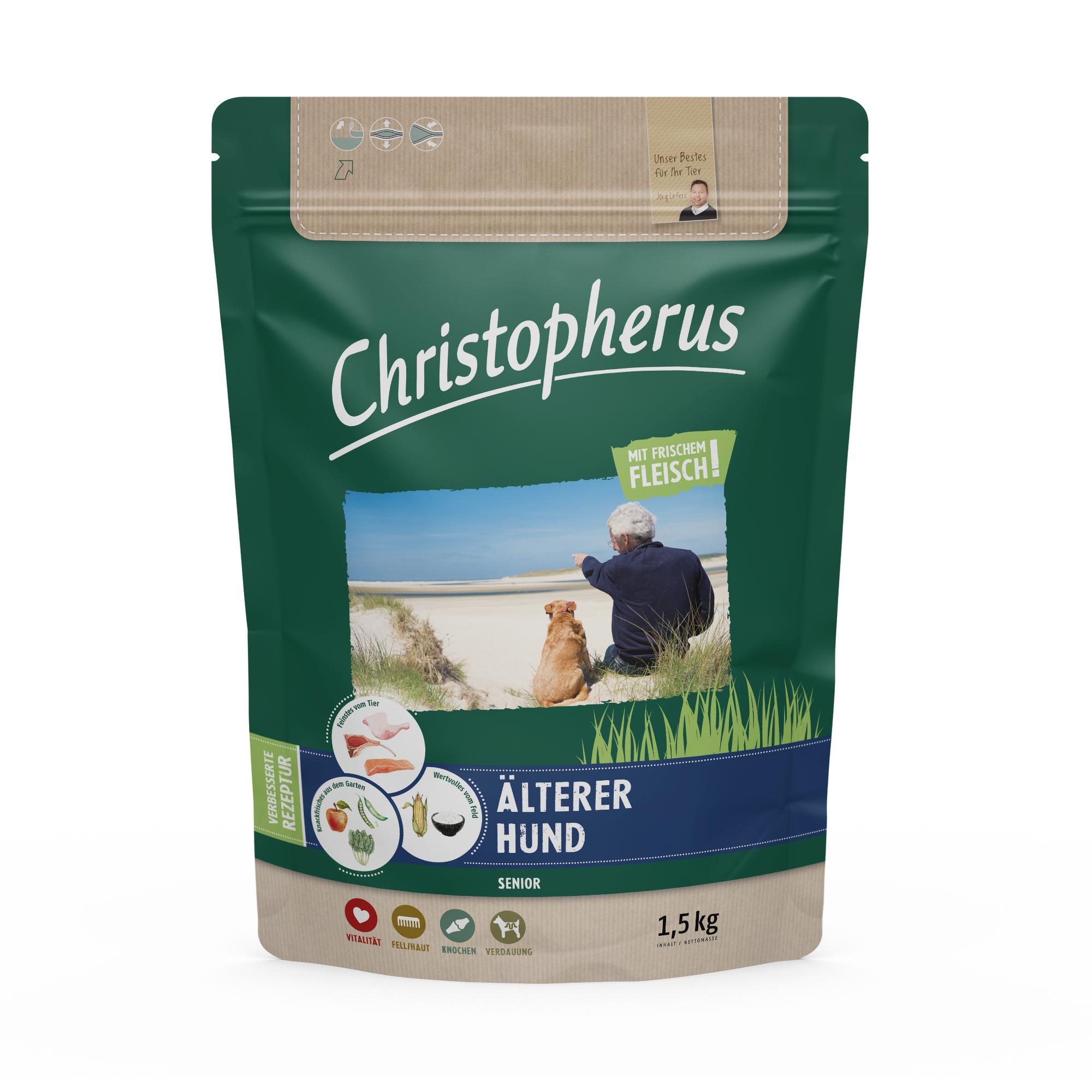 Christopherus – Älterer Hund