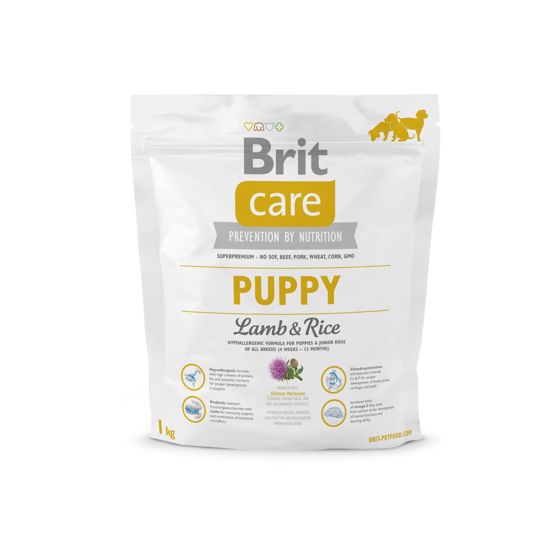 Brit Care Dog - Puppy Lamb & Rice