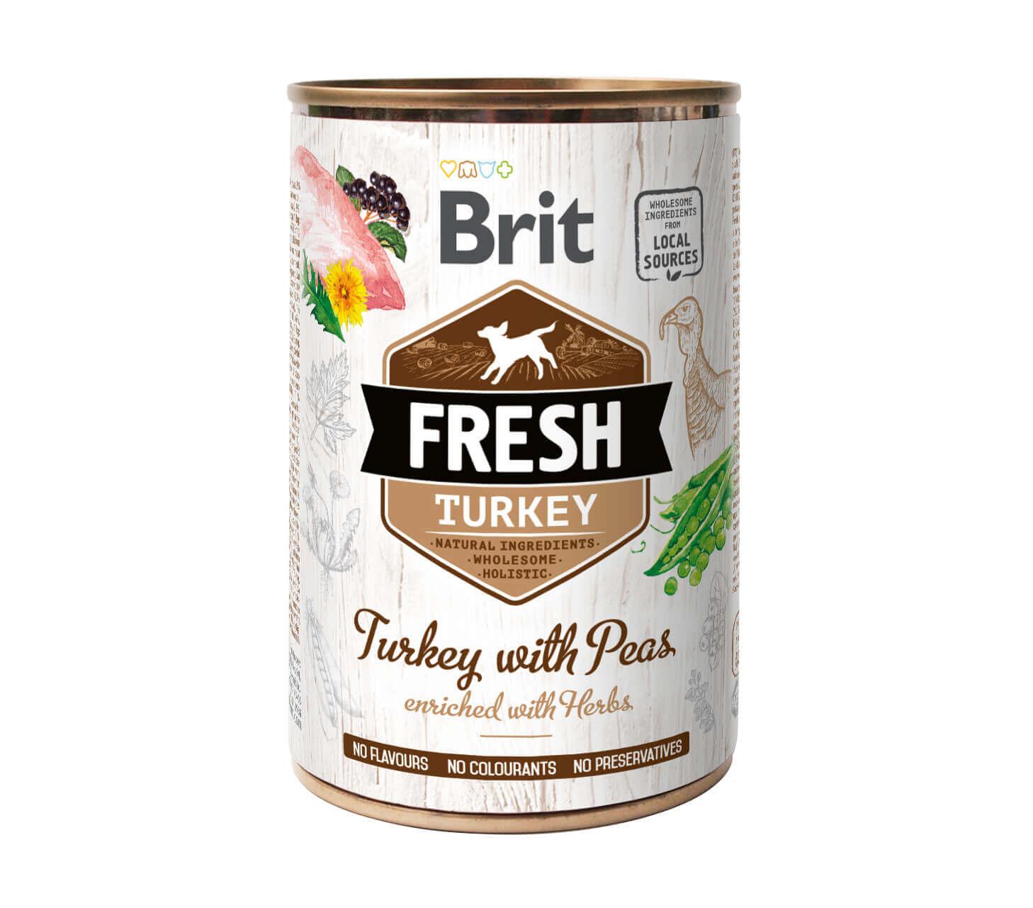 Brit Fresh – Turkey with Peas – (6er Pack)