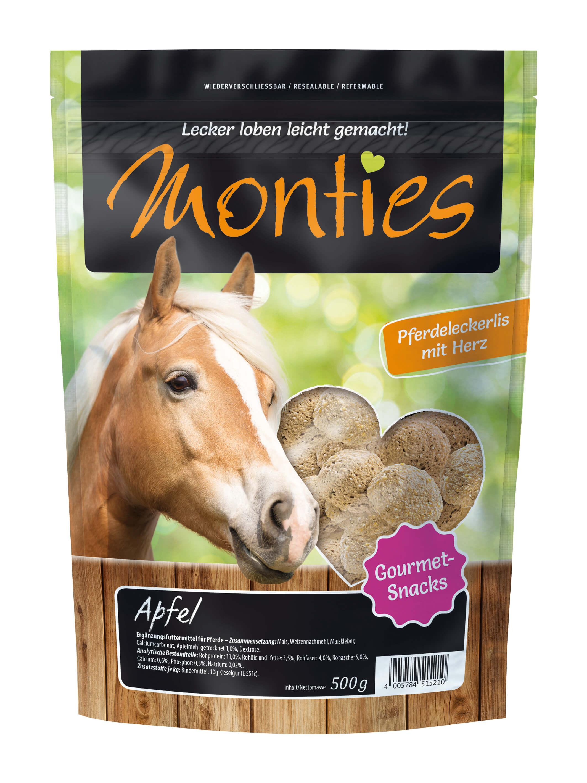 Monties - Apfel-Snacks